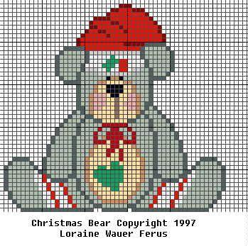 Billy Bears Storybook Cross Stitch Knitting Patterns X Mas