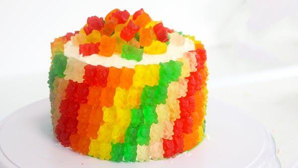 Gummy Bear Cake | Recipe | Gummy bear cakes, Bear cakes ...