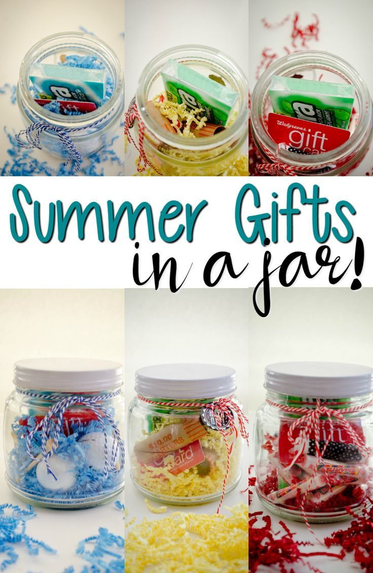 Need A Summer Gift Idea Here Are Three That You Can Give In A Jar Jar Gifts Summer Gifts Mason Jar Gifts
