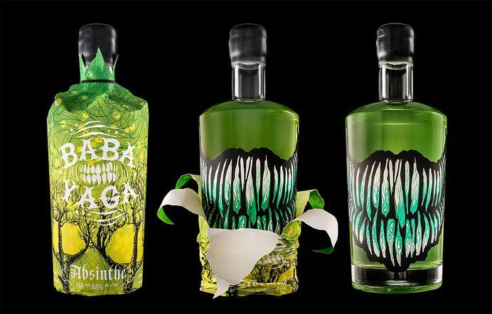 Baba Yaga Absinthe, for Arbutus Distillery — Designspiration