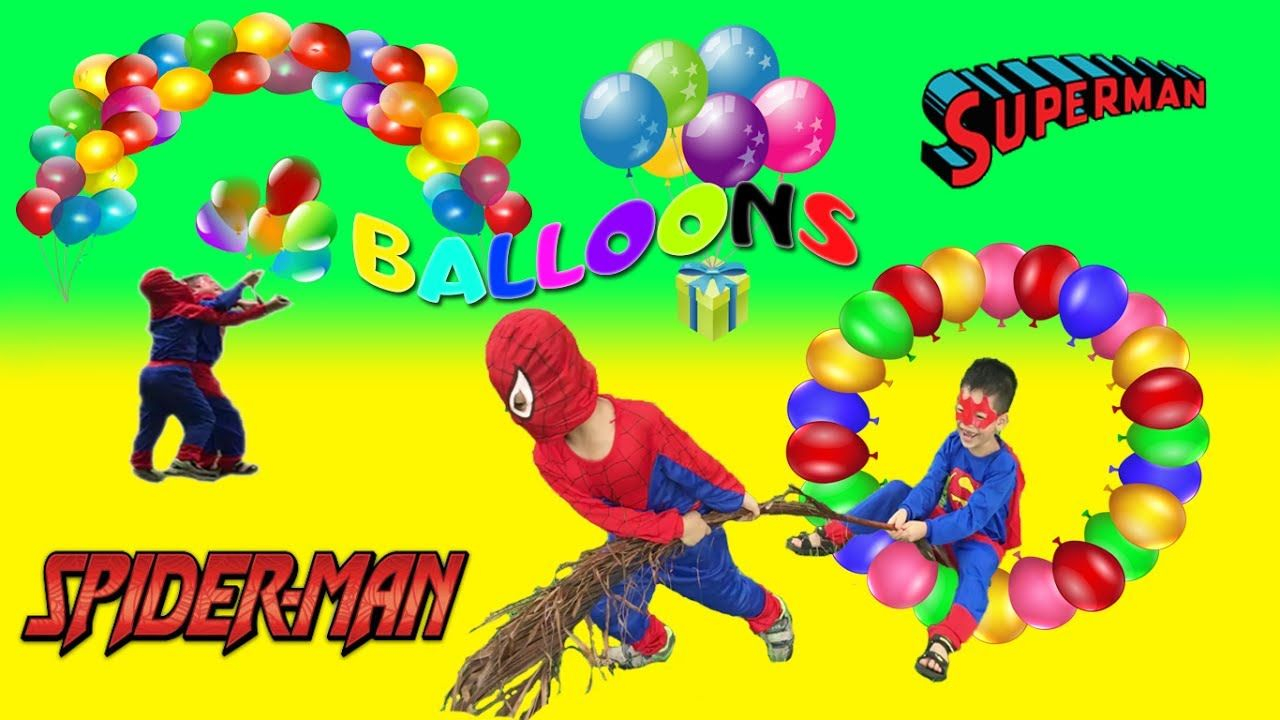 Learn Colors with Balloons for Children, Toddlers and Babies ...