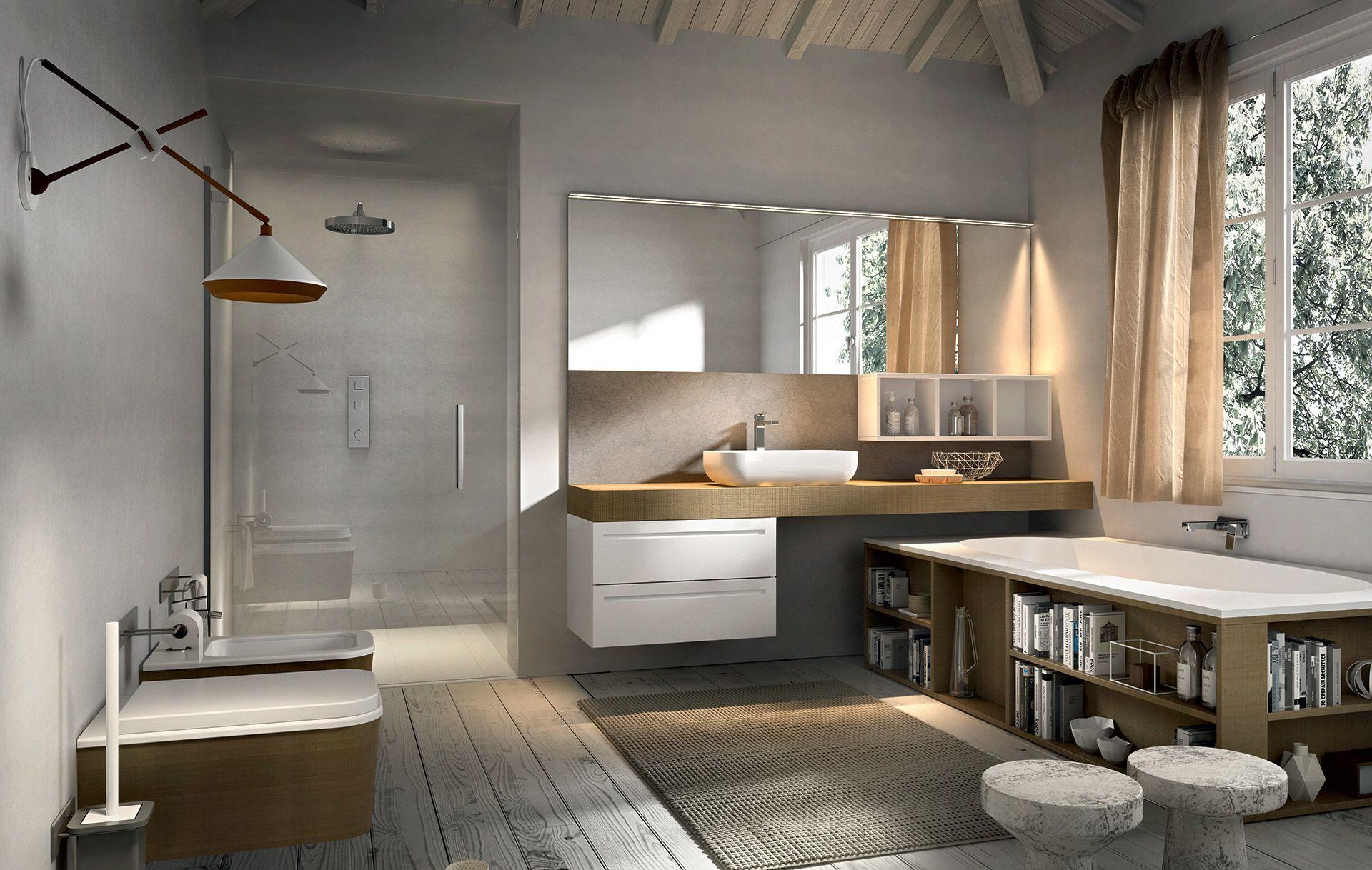 Collezione ker by edon design 18 mobili bagno dai - Arredo bagno semplice ...