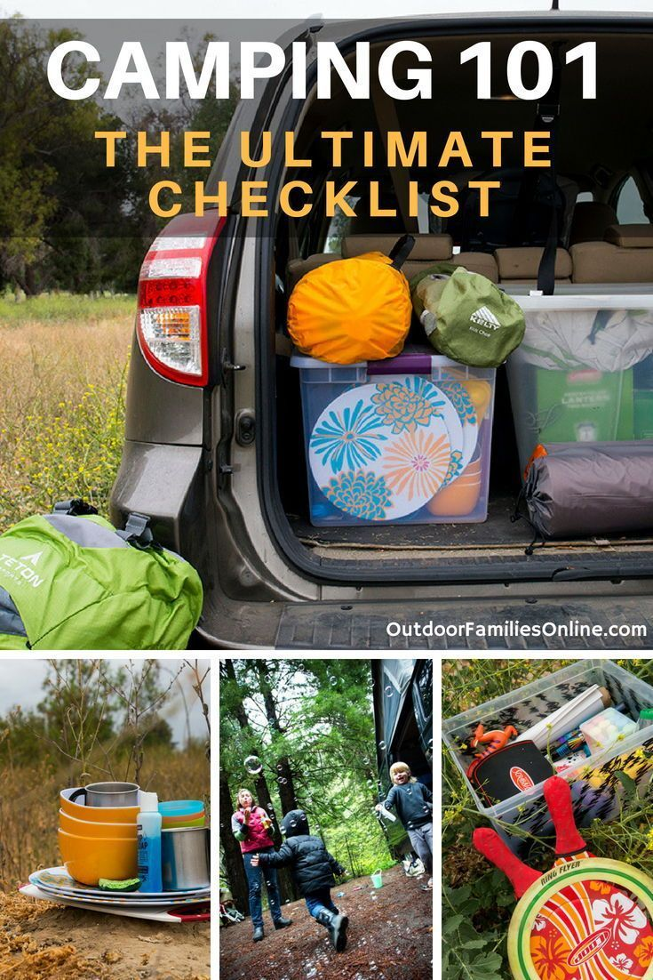 Photo of Camping Packing List PLUS Expert Camping Storage Ideas – Printable!