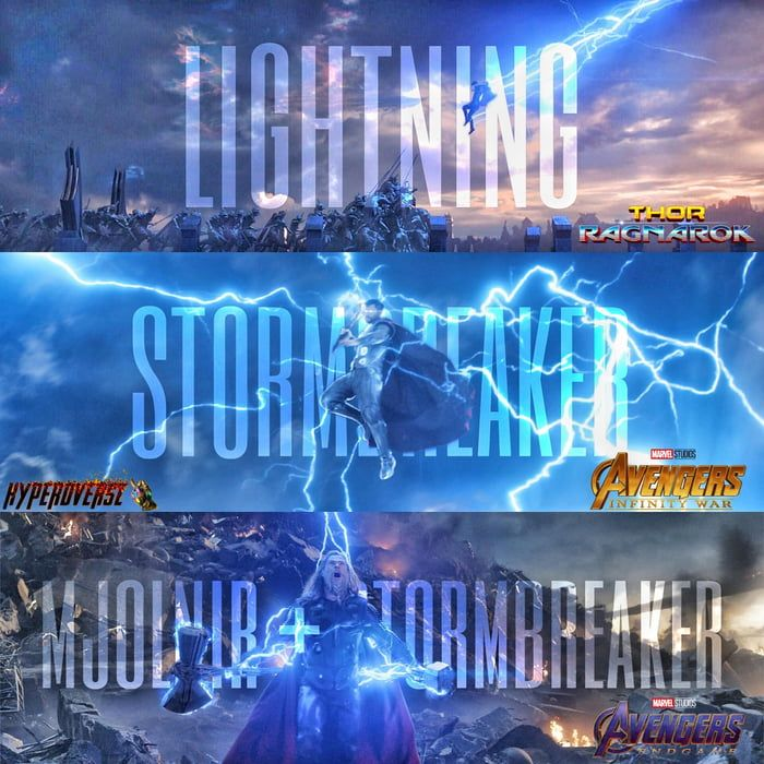 Mjolnir or Stormbreaker | Best funny pictures. Thor. Marvel