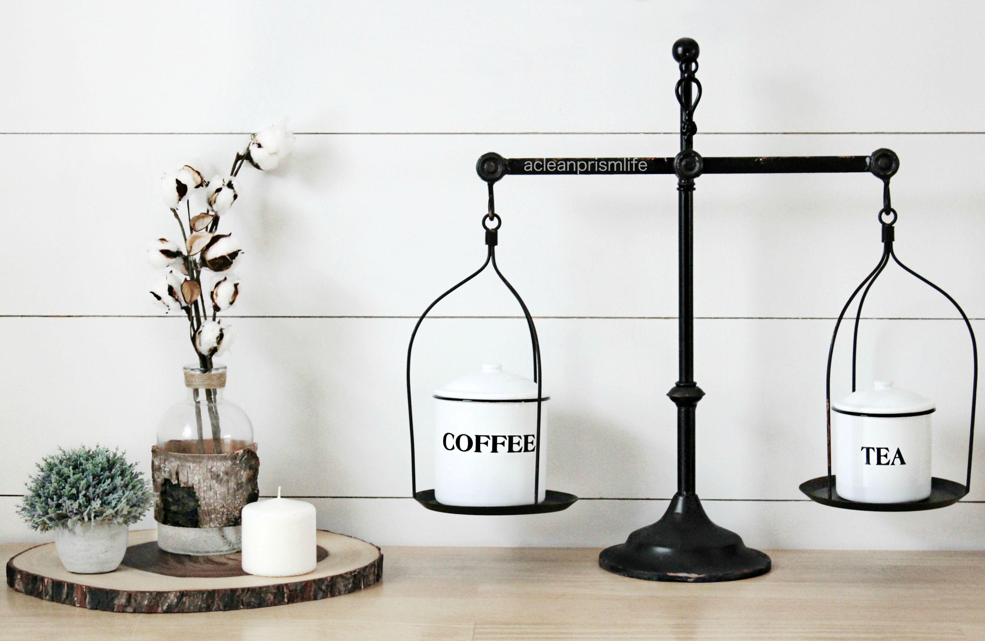 Modern Farmhouse Style Decor Steals Vintage Scale Black And White