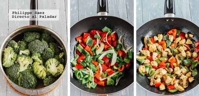 Teppenyakipollo Verduras Prep
