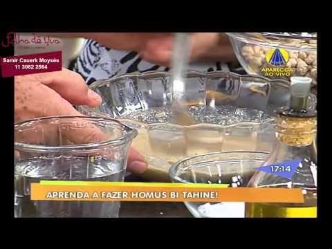 Restaurante Folha de Uva - Chef Samir Cauerk Moysés -  Homus Bi Tahine