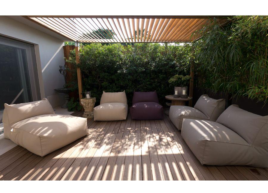 Panarea Sofa Set Auf Einer Terrasse Mit Pergola Lounge