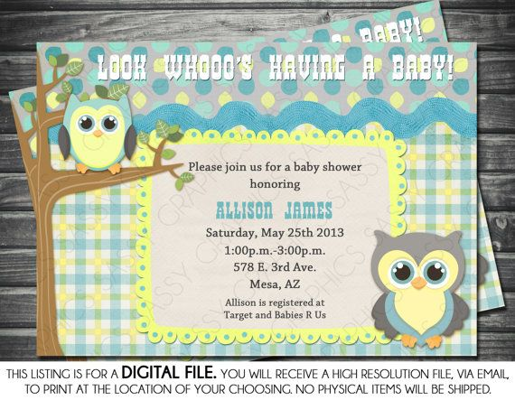 Boys baby shower invitation owl theme blue yellow gray boys baby shower invitation owl theme blue yellow by sassygfx 1300 filmwisefo