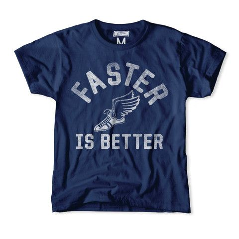 Faster is Better Kids Tee