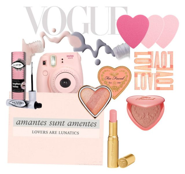 """""""lovers are lunatics <3"""" by spiziak ❤ liked on Polyvore featuring beauty, Bottega Veneta, Sephora Collection and Too Faced Cosmetics"""
