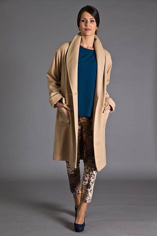 MiraMarce / Kašmírový kabát