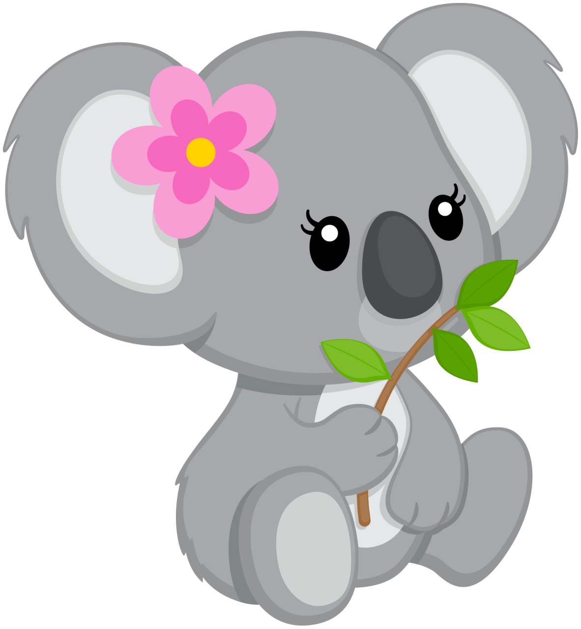 Koala Bear Painted Rocks Clip Art Baby Koala Baby
