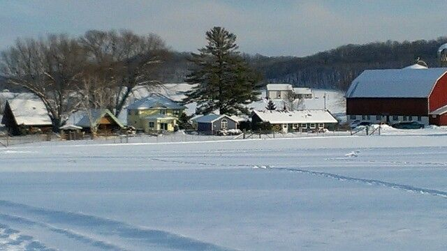 Justin Trails Resort Wrapped In A Blanket Of Snow Our Resort Is Closer Than You Think Only 20 Minutes From Onalaska And 30 Min Ski Trails Quad Cities Resort