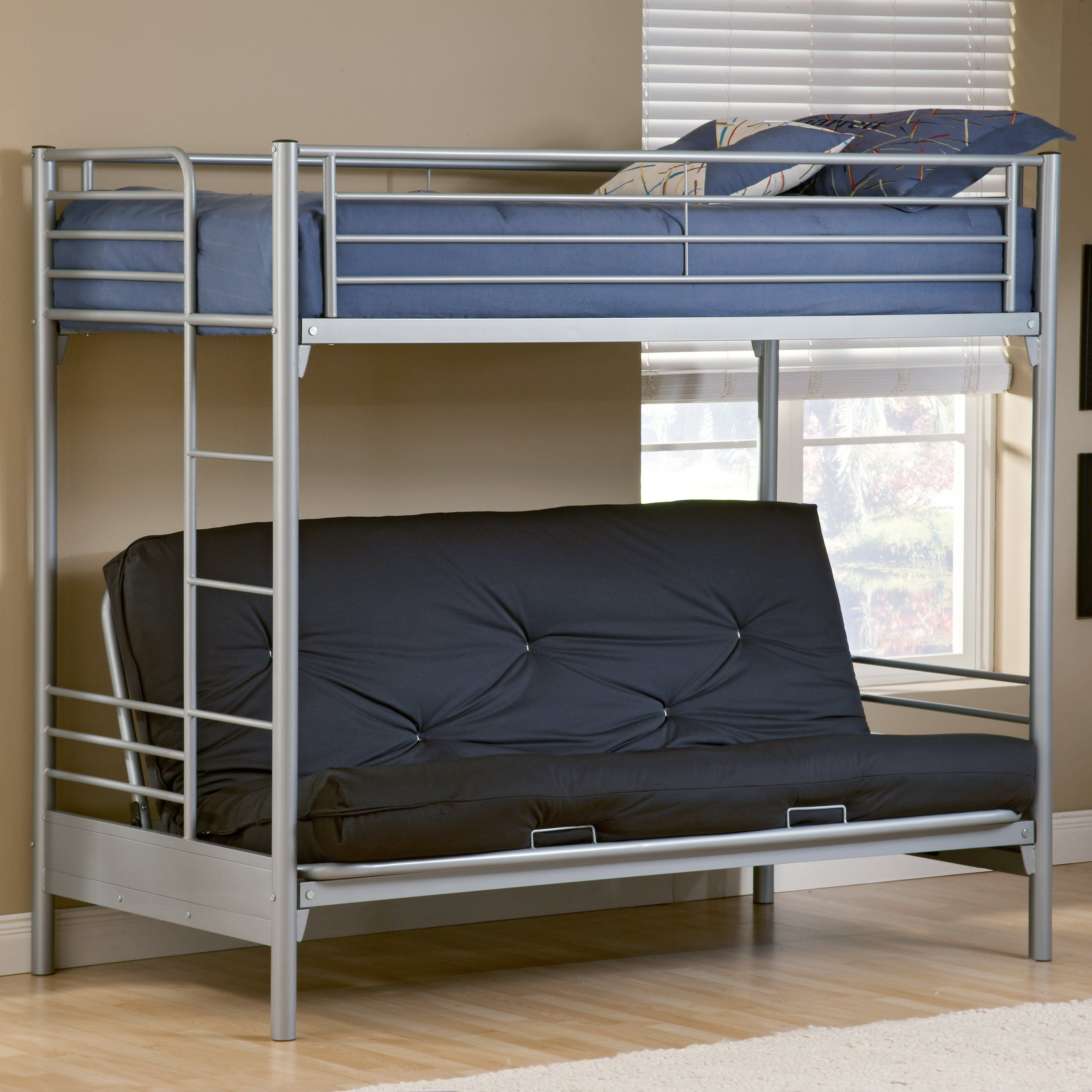 Universal Twin Over Futon Bunk Bed 522 99