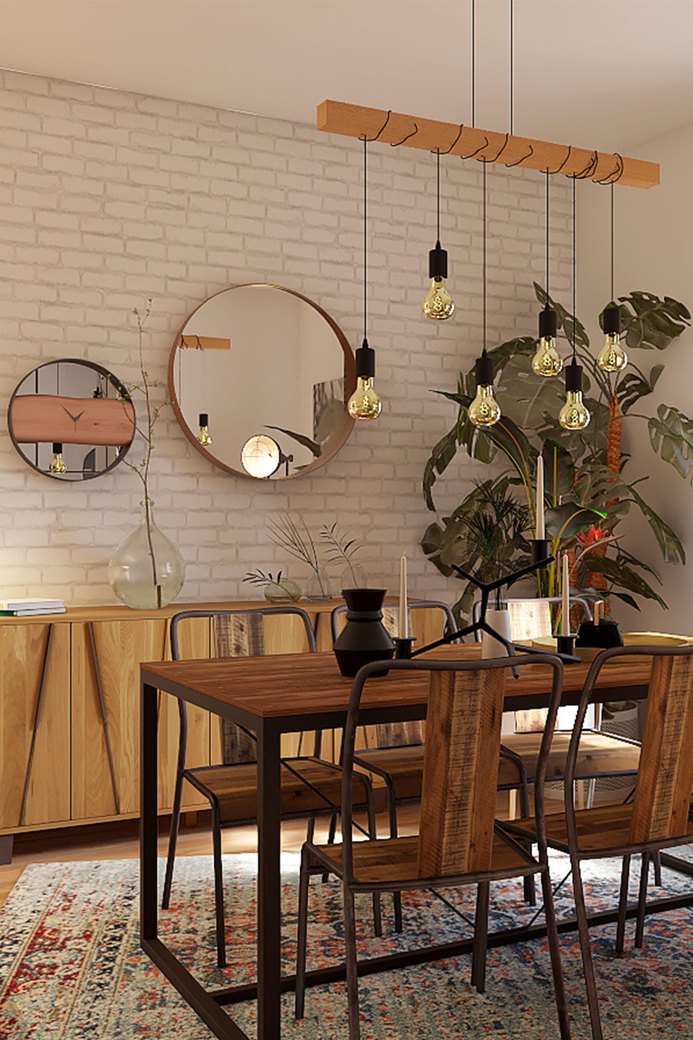 40++ Decoration industrielle salle a manger ideas