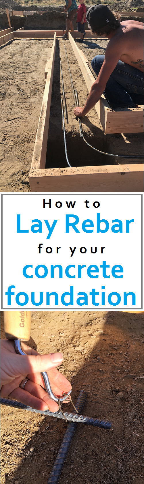 How To Lay Rebar For Your Concrete Foundation Step By Instructions Cost Outline Tips Build Own House