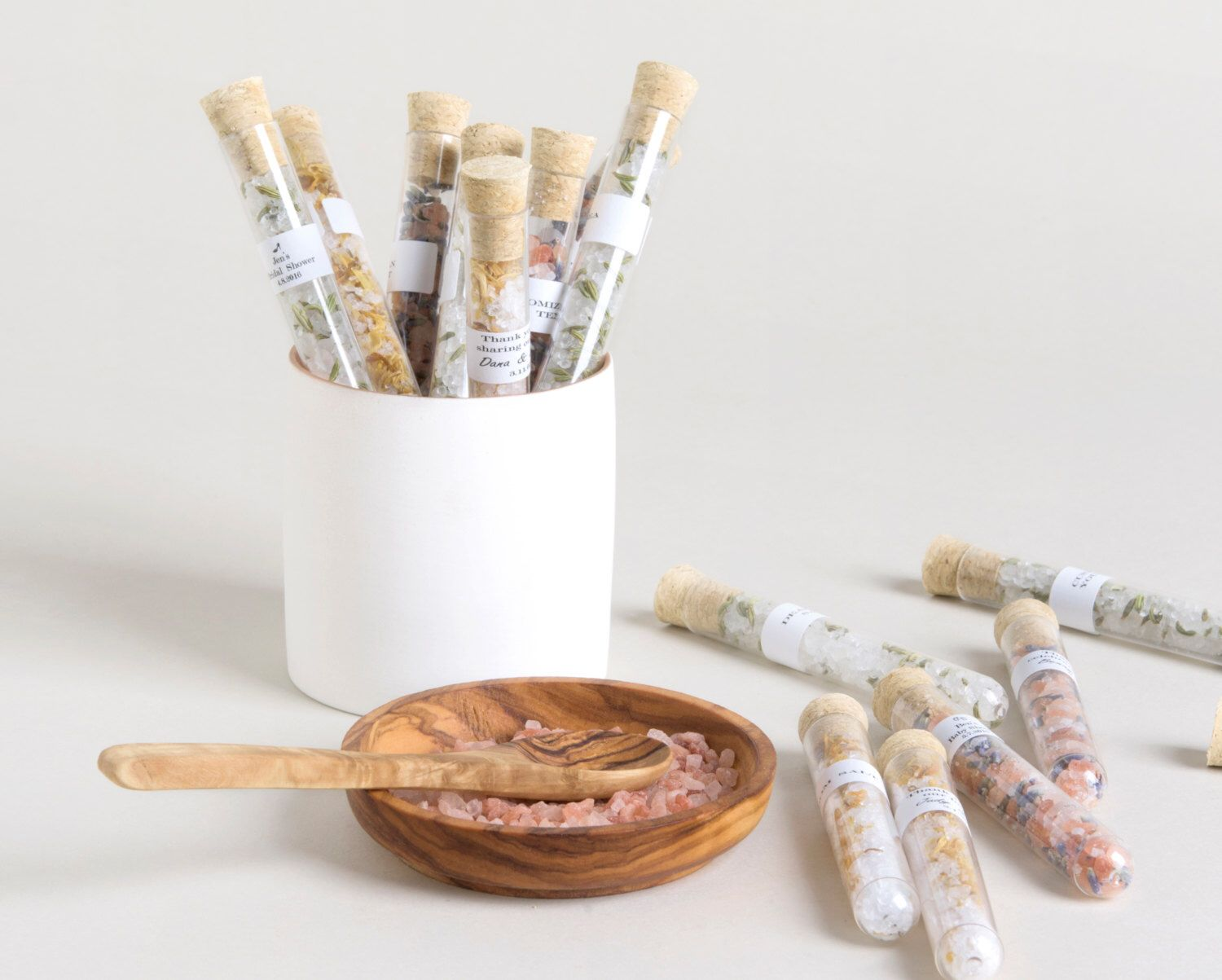 12 Wedding Trending in favors, Bath salt favors , Bridal Shower ...