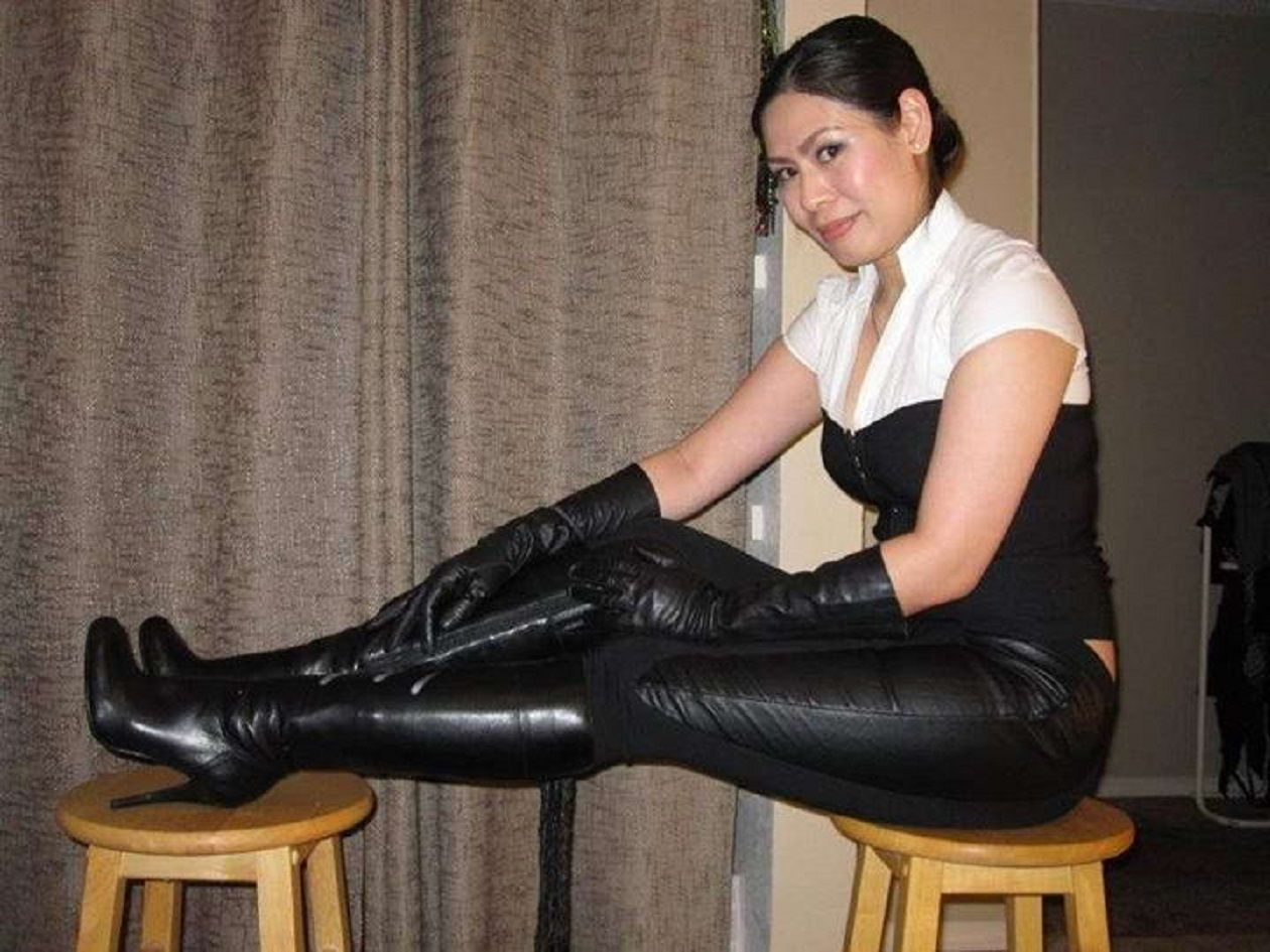 women in leather | asian mature | pinterest | leather, asian and woman