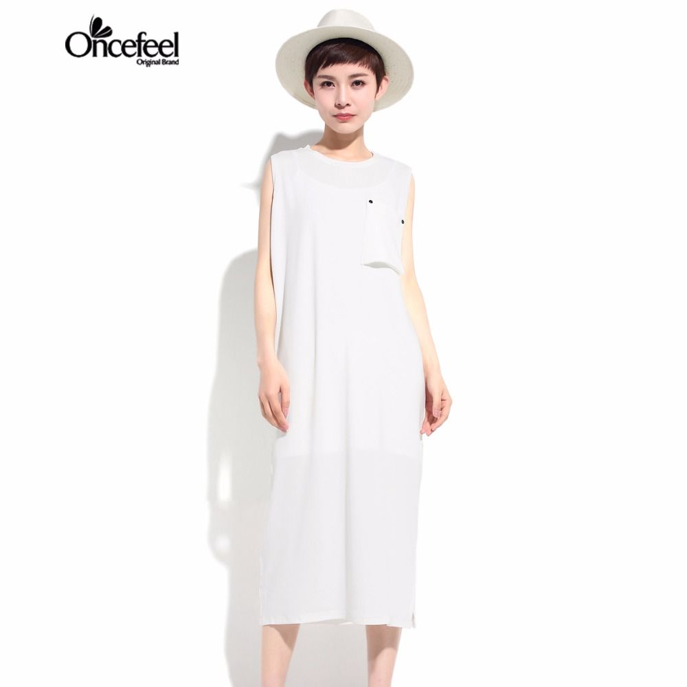 ==> [Free Shipping] Buy Best Boho dress Spring new minimalist ride Swimsuit Solid color long sleeves dress bottom T shirt Waistcoat for women WXTCST1795 Online with LOWEST Price | 32812177561