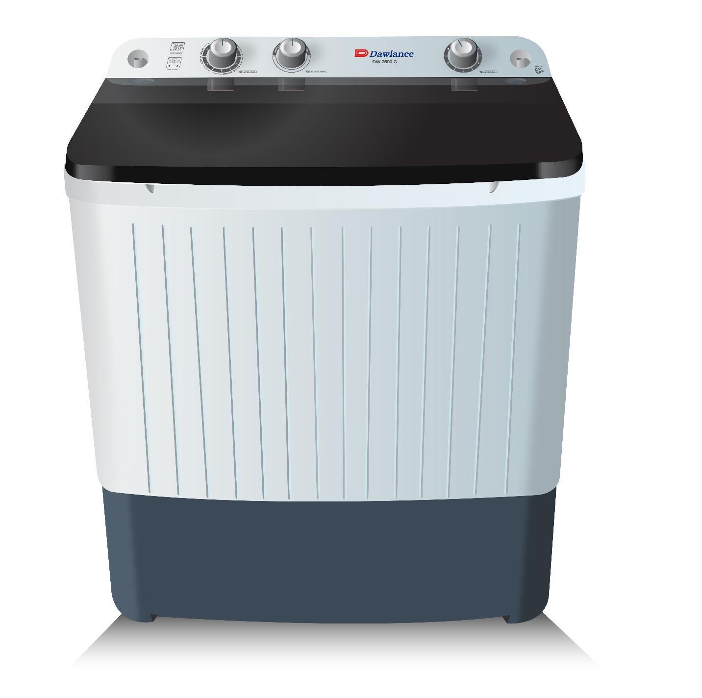 Buy Dawlance DW-7500 - 7kg - Semi Automatic Washing ...