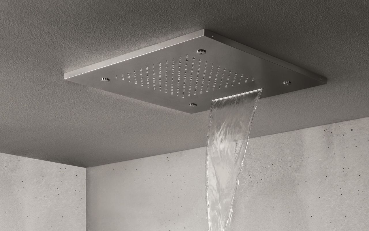 Spring Sq 500 A Built In Shower Head With Images Bathroom
