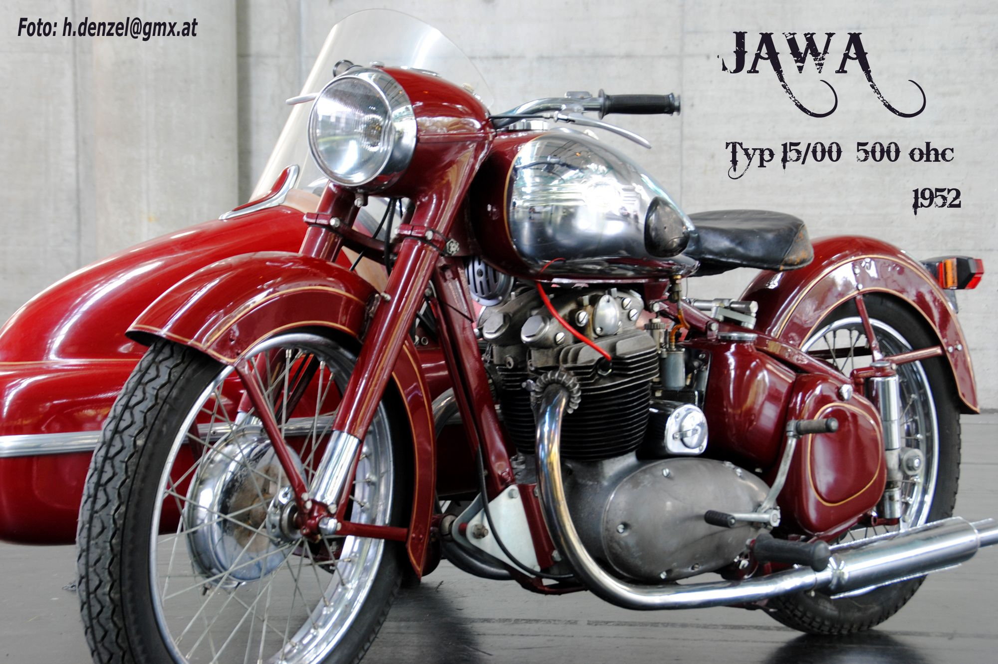 Jawa Typ 15 00 500ohc 1952 Classic Motorcycles Motorcycle