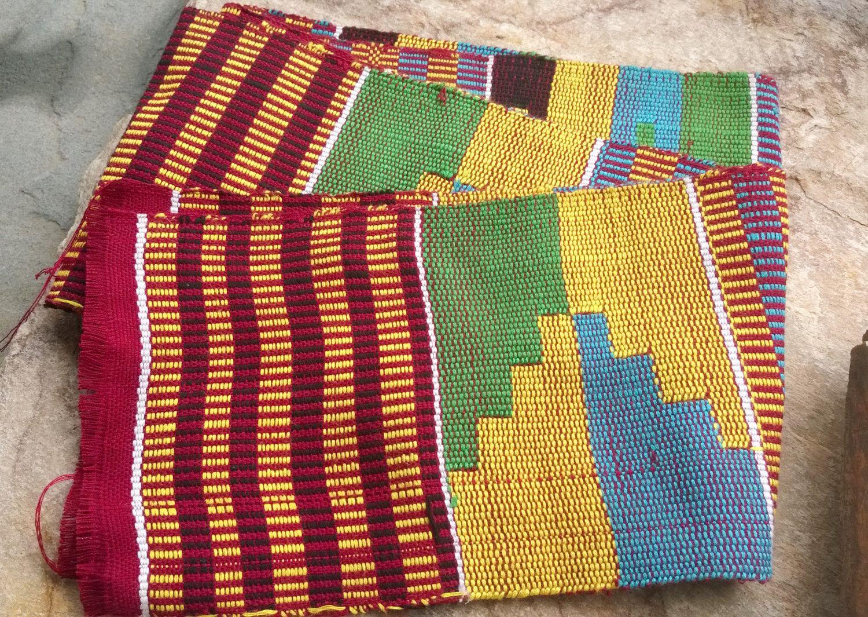 African Kente Woven Cloth,Ghana Woven Kente Cloth ...