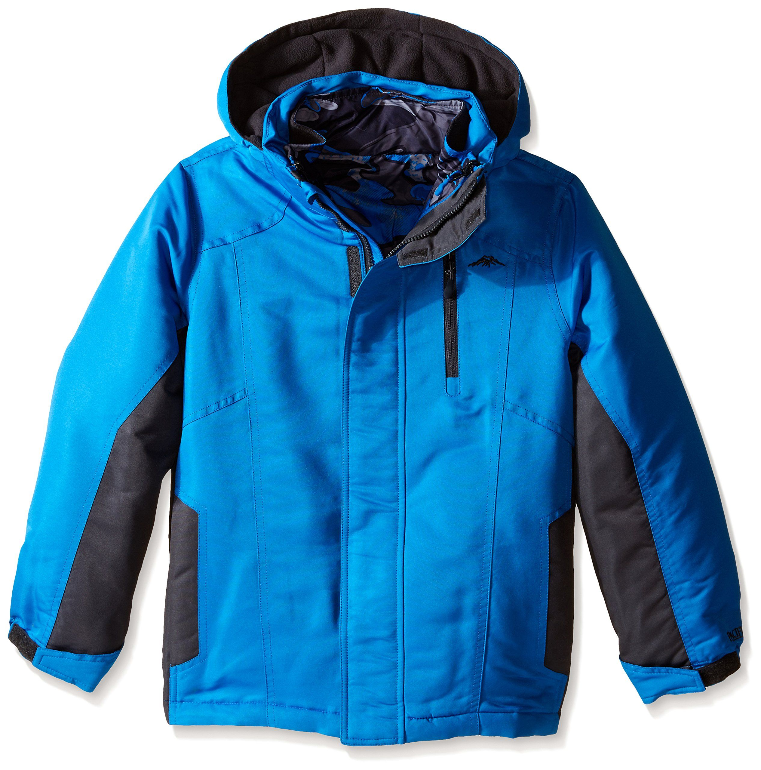 Pacific Trail Big Boys Systems Heavyweight Coat With Puffer Jacket Blue 8 This Jacket Can Be Worn Four Different Wa Puffer Jackets Jackets Altering Clothes [ 2560 x 2531 Pixel ]