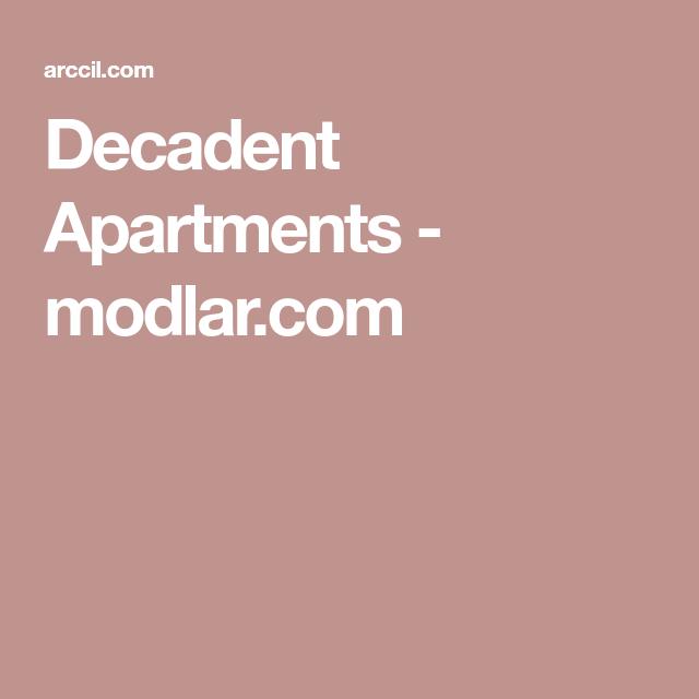 Decadent Apartments - modlar.com