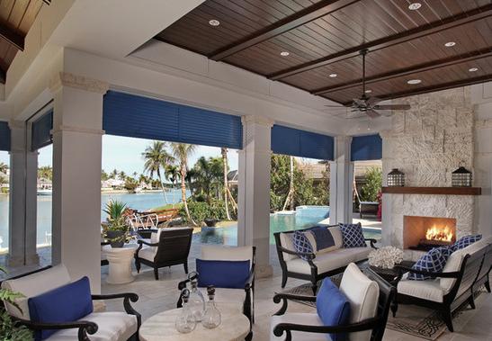 Lanai Idea Outdoor Space Design Florida Interior Design Interior Design Dubai