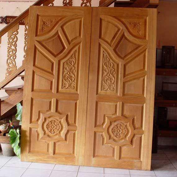 Main Solid Double Door Hpd326 Main Doors Al Habib Panel Doors Wooden Door Design Double Door Design Wooden Main Door Design