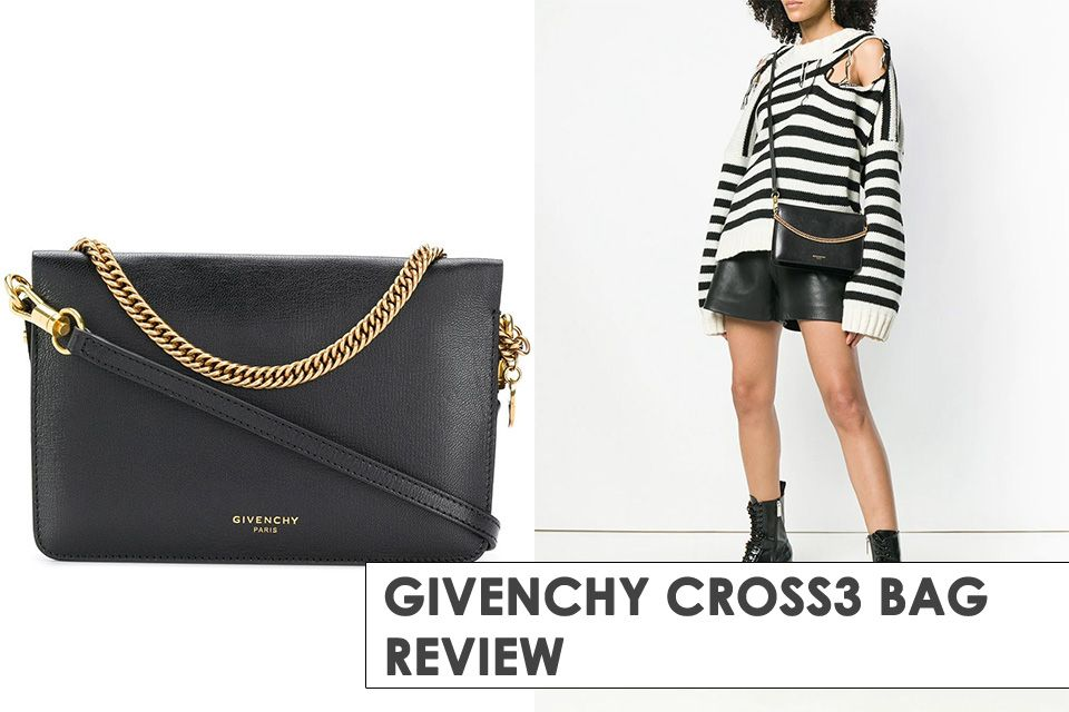 52dcdeabd Easy-to-carry, light-weighed and glamorous, Meet the new Givenchy Cross3  Bag, read more details here.