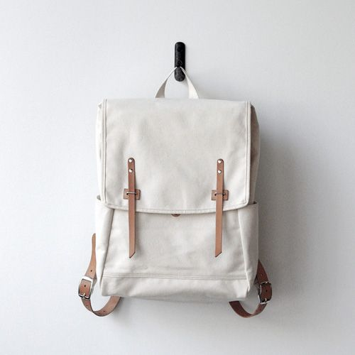 Farm Ruck Sack from Makr Carry Goods via Twig & Thistle