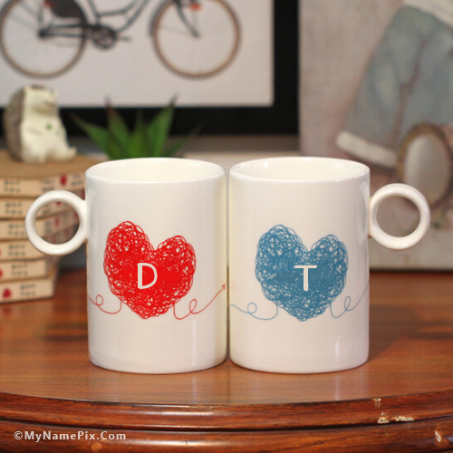 b26aa0930f The name [d] is generated on Couple Love Cups With Name image. Download and  share Name Alphabet Combinations images and impress your friends.