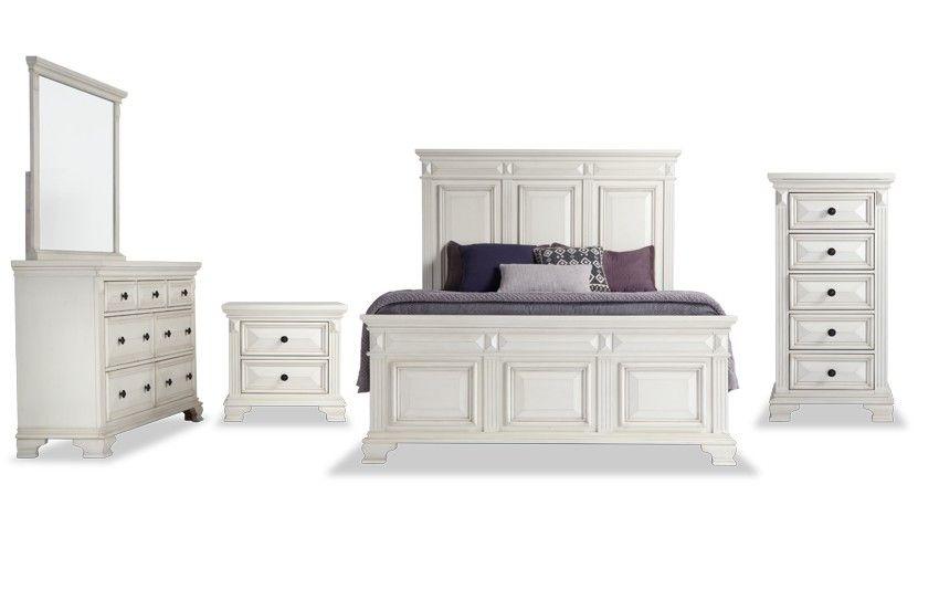 Palisades Storage Bedroom Set Bobs Com Bedroom Set Master