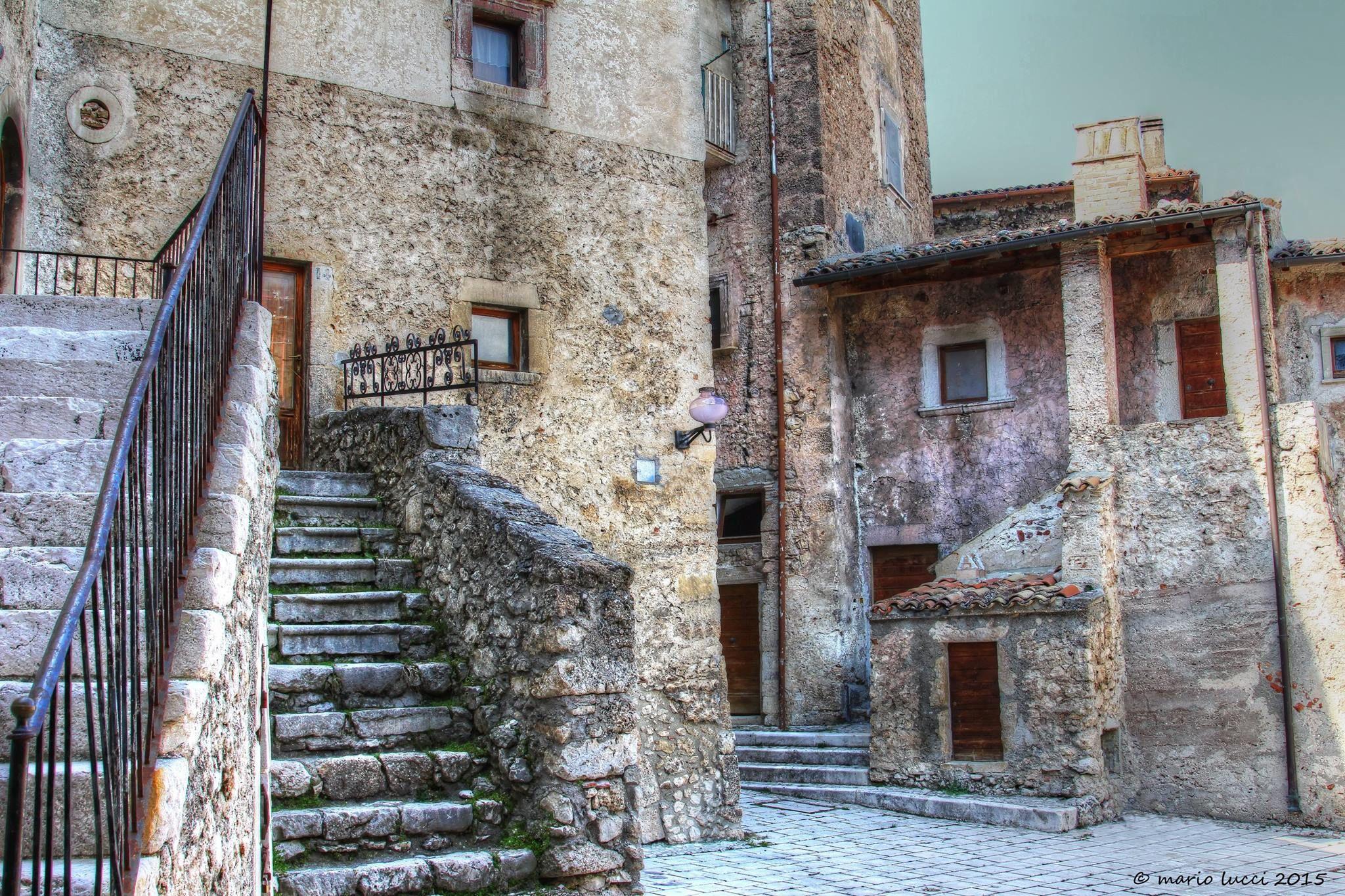 Scorcio di Santo Stefano di Sessanio (Aq), uno tra i più antichi borghi d'Abruzzo. Foto @Mario Lucci