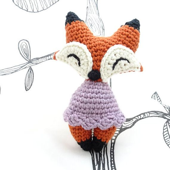 Crochet amigurumi foxy fox PDF pattern | amigurumis | Pinterest ...