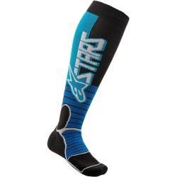 Alpinestars Mx Pro Motocross Socken Schwarz Blau M Alpinestars