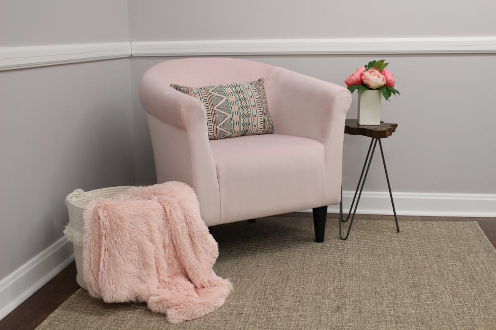 newport club chair  blush pink  walmart in 2020
