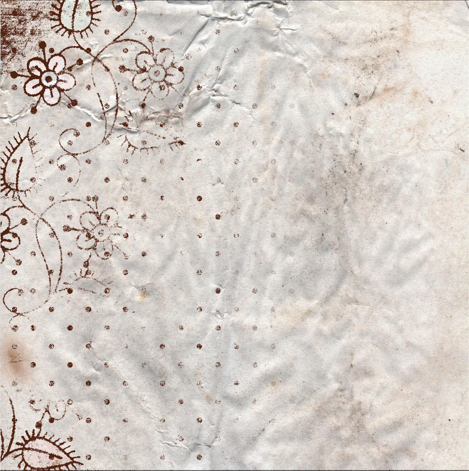 Floral Vintage Paper