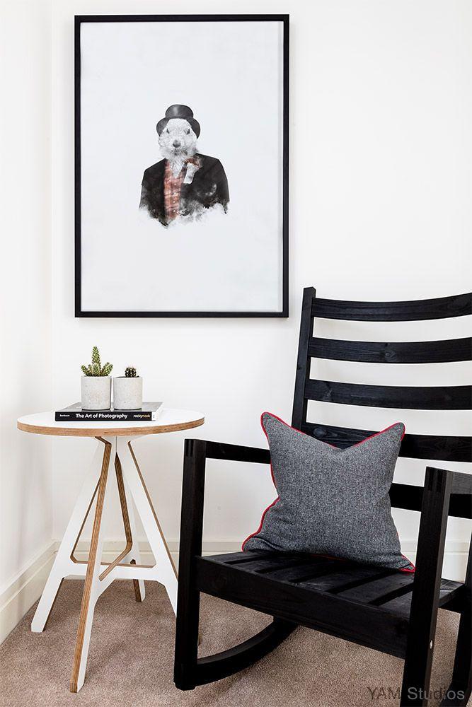 Interior design portfolio minimal interior design london yam studios interiors scandinavian home rocking chair monochrome