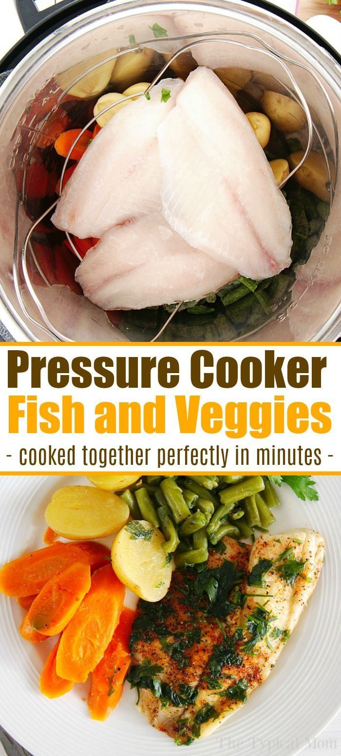 Instant Pot Tilapia And Vegetables Cooked Together Is The Perfect Heal In 2020 Instant Pot