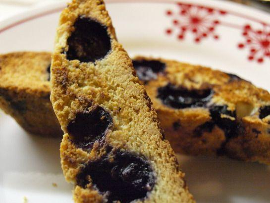 Blueberry lemon biscotti recipe