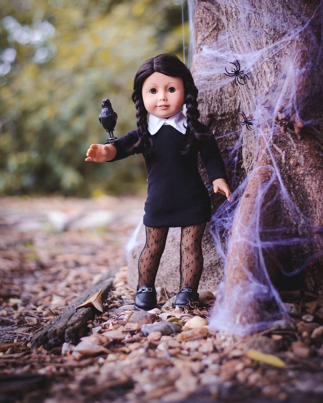 Mysterious and spooky... Wednesday Addams! ⚰ | American Girl ...