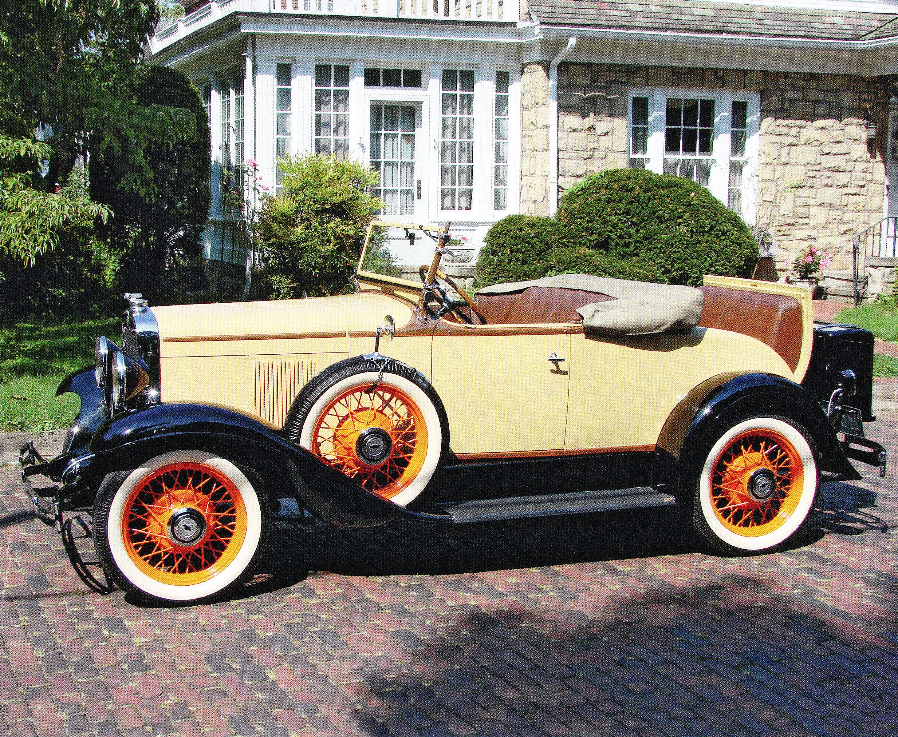 1930 Chevrolet Roadster. Maintenance of old vehicles: the material ...