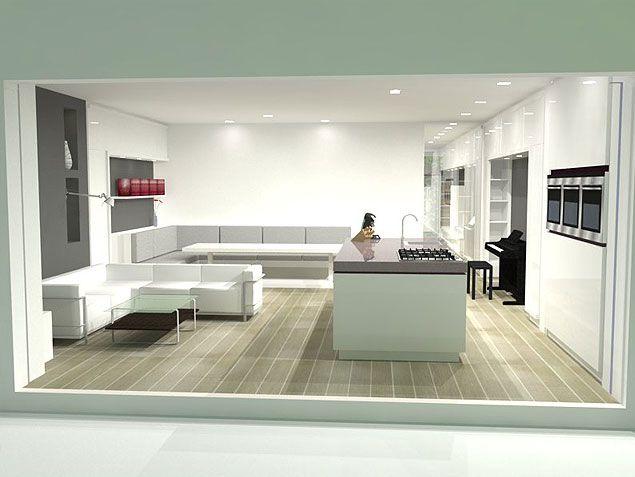 interieurontwerp amsterdam | Bi Fold doors | Pinterest | Glass ...