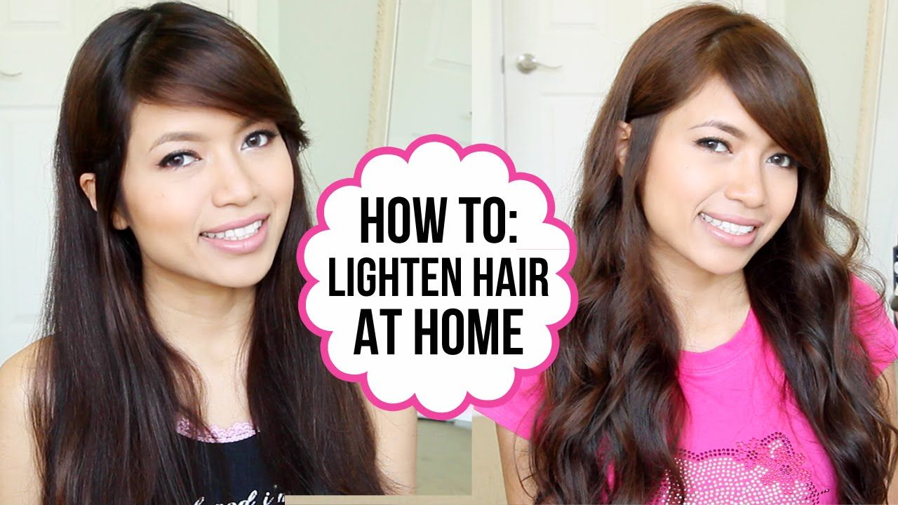 DIY How to Dye Hair from Black to Brown (Coloring Tips