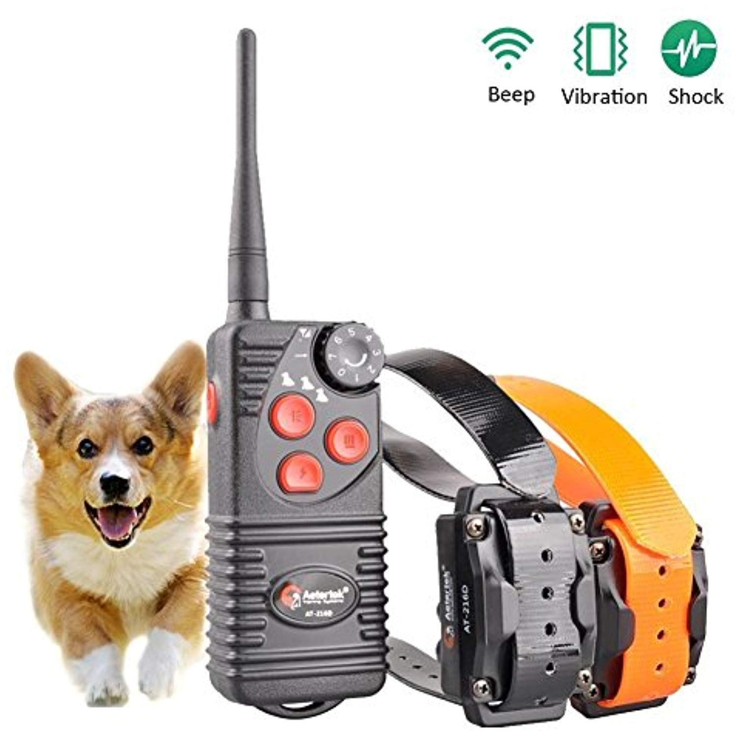 Aetertek At 216s Submersible 550m Remote Range Pet Dog Electric