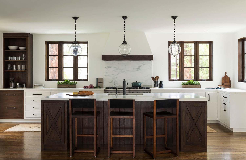 Charming Mediterranean Style Home With Heritage In Northern California Kitchen Interior Design Modern Spanish Style Kitchen Modern Kitchen Interiors